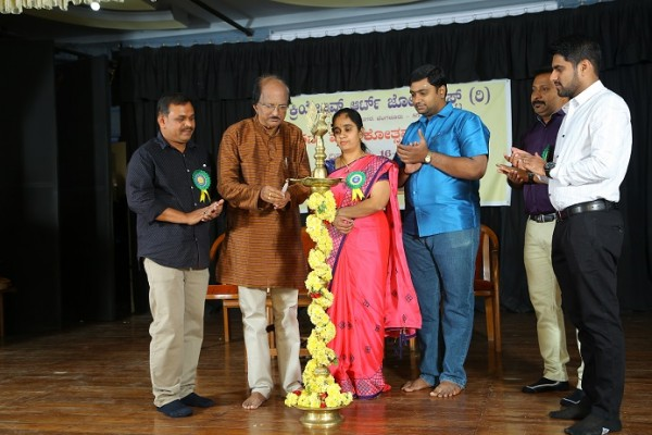Inauguration of 5th Annual Day of Creative Art Zone by Shri. Dundi Raj