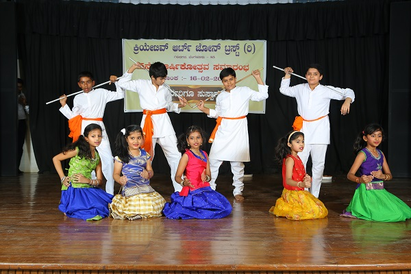 Dance by students of Creative Art Zone